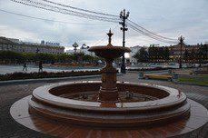 Хабаровские фонтаны ушли в «спячку» до весны