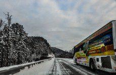 Начало весны в Хабаровске, циклон не покидает Хабаровский край