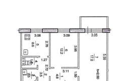 Продам 2-х комн квартиру на Спутнике