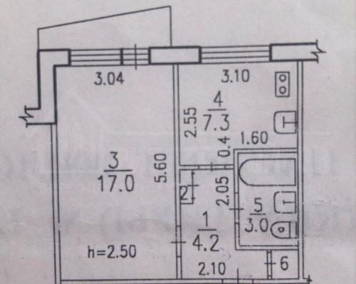 Продам 1-ю квартиру новой планировки в отличном состоянии