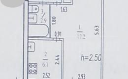Продам 1-ю квартиру в индустриальном районе